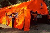 BAZNAS Builds Field Hospital in Lombok
