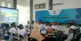 Puskas BAZNAS Conduct Training in BAZNAS of Gresik District