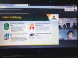 Puskas BAZNAS Holds An Online Meeting for the Shariah Compliance Index Pilot Project