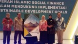 Puskas BAZNAS launched  Indonesia Zakat Outlook 2019